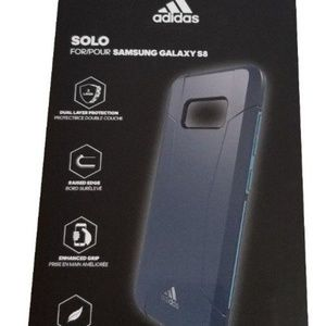 Adidas Blue Solo Premium Case for Samsung Galaxy 8
